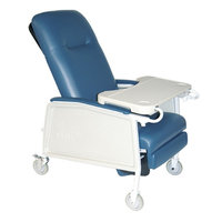 Drive Medical 3 Position Geri Chair Recliner, Jade, 1 ea
