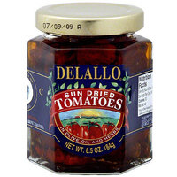 Delallo Sun Dried Tomatoes In Olive Oil And Herbs, 6.5 oz (Pack of 12)