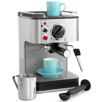 Cuisinart EM-100 Stainless Steel 15-Bar Espresso Maker
