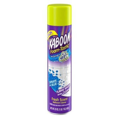 Kaboom 23 oz. Bonus Foam-Tastic Fresh Bathroom Cleaner with OxiClean