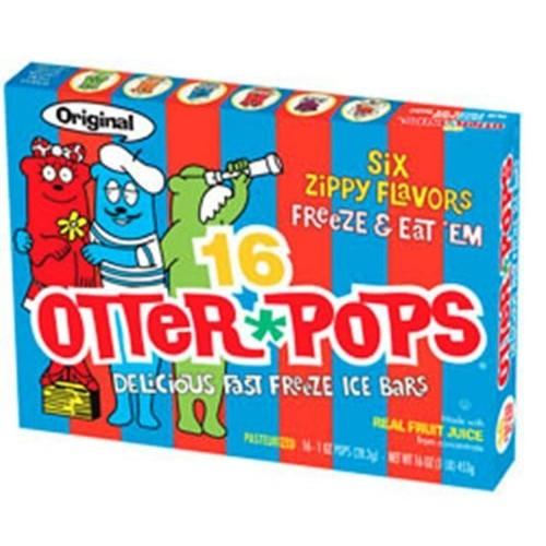 Otter Pops 1oz Assorted Freezer Bars (Pack of 12)