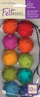 Dimensions Feltworks Bead Jewelry Kit, Assorted Brights, 10-Pack
