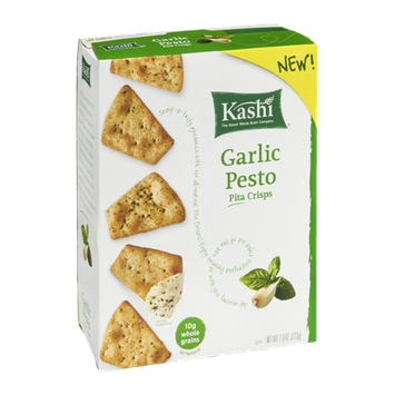 Kashi Garlic Pesto Pita Chips