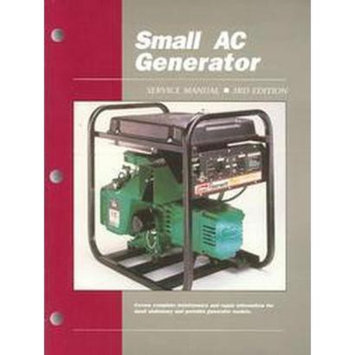 Small Ac Generator Service Manual/Cat No. Gsm-3 (Subsequent)
