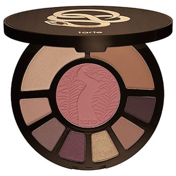 tarte limited-edition rainforest after dark colored clay eye & cheek palette