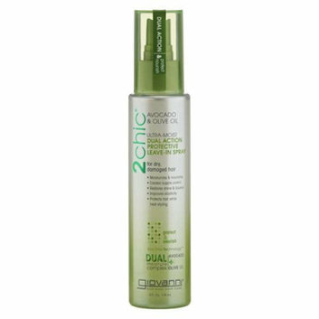 Giovanni Hair Products Giovanni Hair Care Products Spray Leave In Conditioner 2Chic Avocado 4 oz