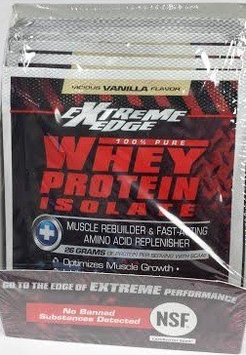 Extreme Edge Whey Protein Isolate - Chocolate Packets Bluebonnet 7 Packet