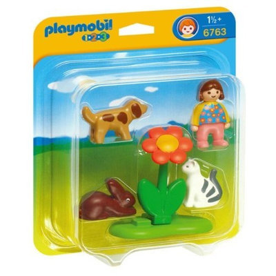 PLAYMOBIL® Playmobil Girl With Pets