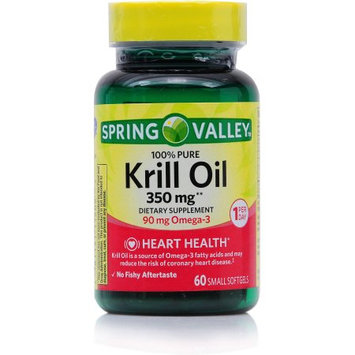 Spring Valley Krill Oil Dietary Supplement, 300mg, 60 count