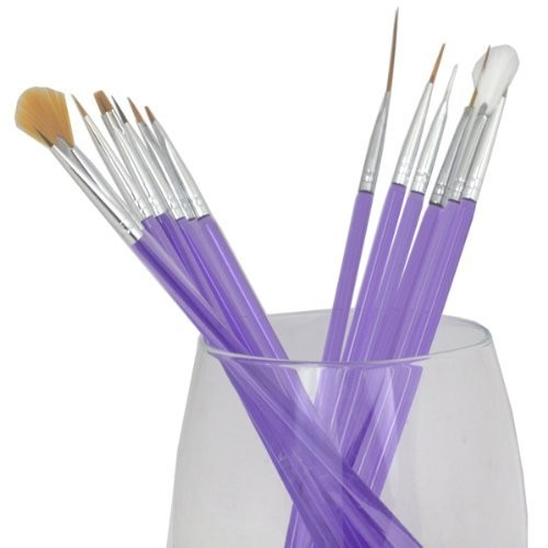 FASH Limited FASH Professional Acrylic Nail Art Brush Set-15 pc