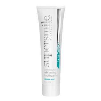 Supersmile Fluoride Free Professional Whitening Toothpaste, Original Mint, 4.2 oz