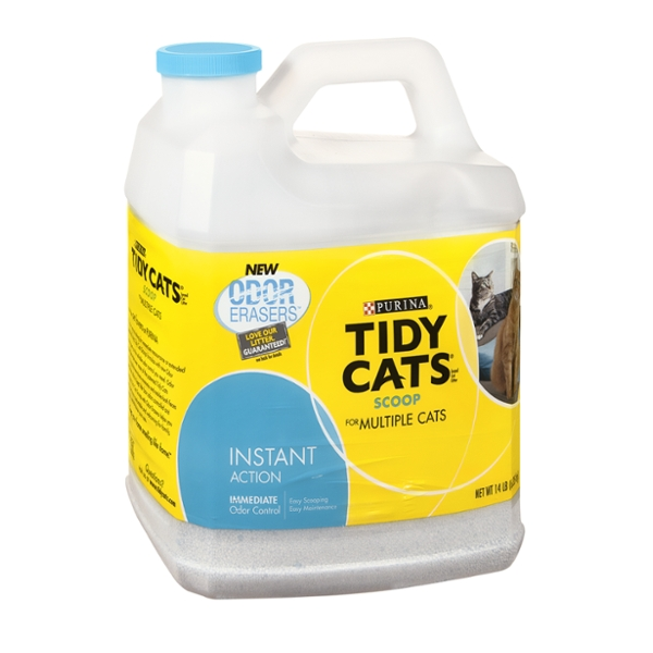 Purina Tidy Cats Odor Erasers Scoop for Multiple Cats Instant Action Cat Litter