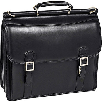 McKlein USA V Series Halsted Leather Laptop Briefcase