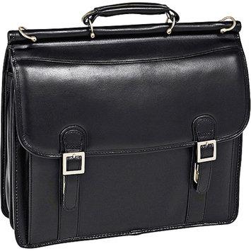 McKlein USA V Series Halsted Leather Laptop Briefcase