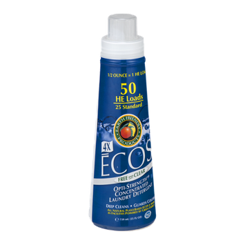 Earth Friendly Products ECOS Opti-Strength Concentrated Laundry Detergent Free and Clear