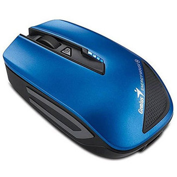 Genuis USA Genius Energy Wireless Mouse, Metallic Blue