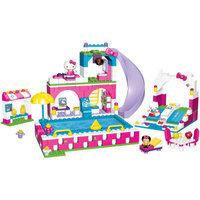 Mega Bloks Hello Kitty Spalsh 'n Swim Water Park Play Set