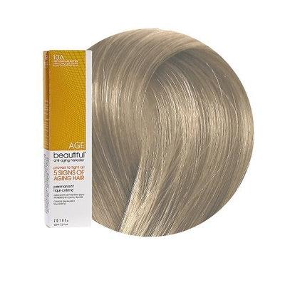AGEbeautiful Anti-aging Permanent Liqui-creme Haircolor 10A Very Light Ash Blonde