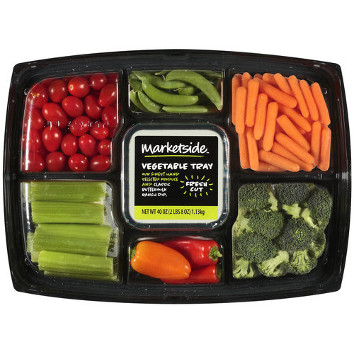 Marketside Vegetable Tray With Buttermilk Ranch Dip, 40 oz