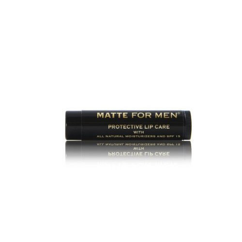 Matte For Men Hydrating Citrus Protective Lip Balm with SPF 15, 0.15-Ounce (Pack of 3)