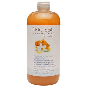 Dead Sea Essentials by AHAVA Nourishing Milk & Honey Spa Bubble Bath