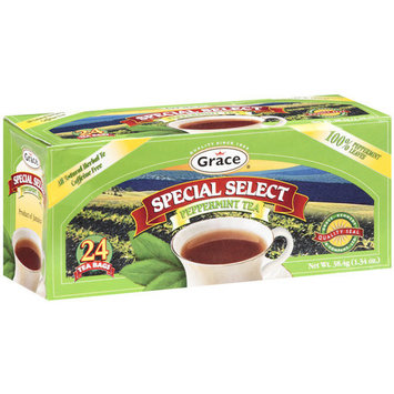 Grace Special Select Peppermint Tea Bags, 24ct