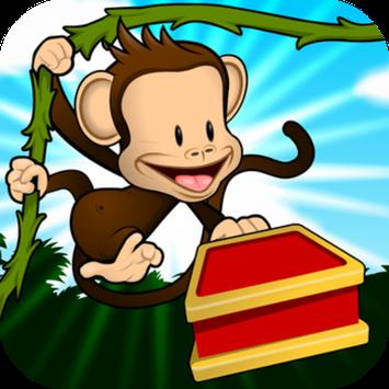 THUP Games Monkey Preschool Lunchbox