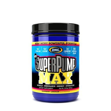 Gaspari Nutrition Superpump Blue Raspberry, 1.41-Pound