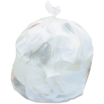 Heritage Bag Heritage Clear Linear Low Density Can Liners - 23 Width X 24 Length X 0.35 Mil [9 Micron] Thickness - Low Density - Clear - Linear Low-density Polyethylene [lldpe] - 1000/carton - Can, (d4823rc)