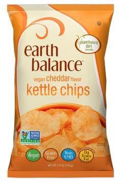 Earth Balance Vegan Cheddar Kettle Chips