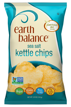Earth Balance Sea Salt Kettle Chips