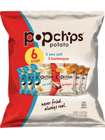 popchips Potato Chips Bbq/Sea Salt  Variety Packs