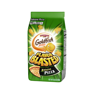 Pepperidge Farm® Xtreme Flavor Blasted Xplosive Pizza Baked Snack Crackers