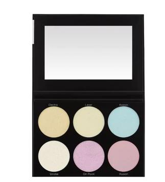 BH Cosmetics Blacklight Hightlight 6 Colour Palette