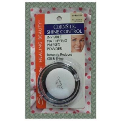 Sally Hansen Healing Beauty Cornsilk Shine Control Invisible Mattifying Pressed Powder, Transparent No Color 6846W01