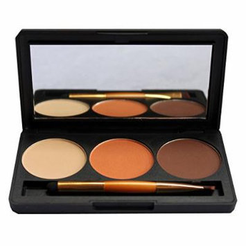 Only Youthe New Three-color Eye Shadow Eye Shadow Color Pearl Eye Shadow Box High Light Eye Shadow 02 # -14.5
