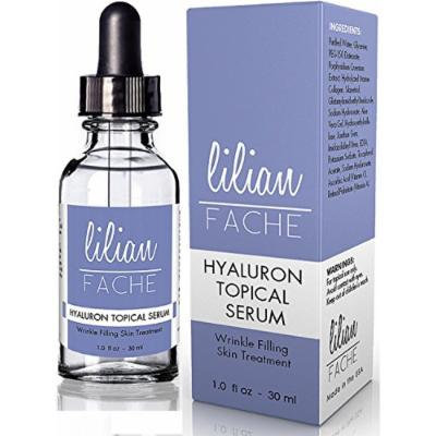 Lilian Fache Hyaluronic Acid Topical Wrinkle Erasing Serum, 30 ml.