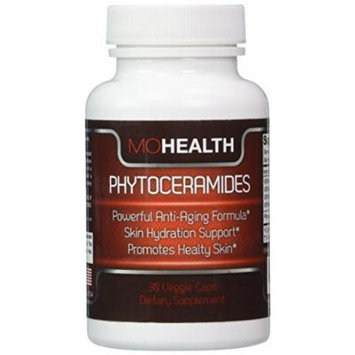 Phytoceramides  Plant Derived Skin & Nail Supplement  Reduce Fine Lines & Wrinkles with Our All-natural Hydrating Capsules & Antioxidant Vitamins A, C, D, & E  Promotes Hydration 90 Day Guarantee