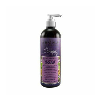 Aroma Naturals Castile Soap Lavender Passionflower 16 fl oz