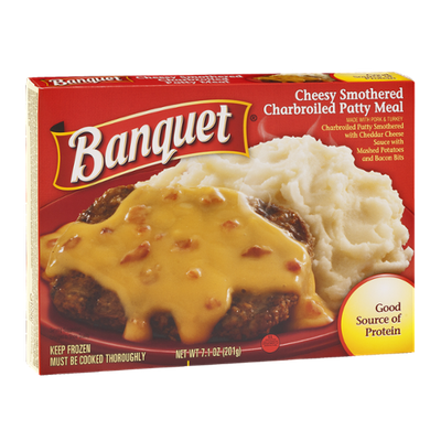 Banquet Homestyle Charbroiled Patty Meal