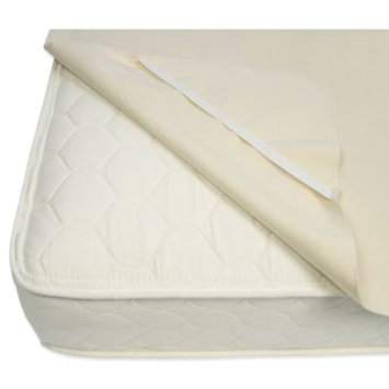 Naturepedic Mattress Waterproof Queen Organic Mattress Pad w/Straps