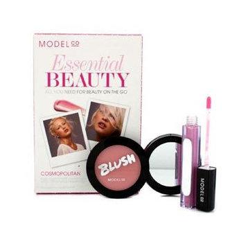 Modelco Essential Beauty Cosmopolitan (1X Blush Cheek Powder, 1X Shine Ultra Lip Gloss) 2Pcs