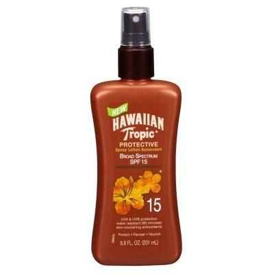 Hawaiian Tropic Protective Tan Lotion Spf#15 6.8oz (2 Pack)