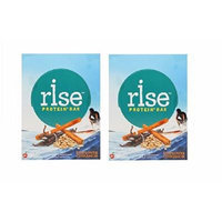RiseBar Sunflower Cinnamon Bar - Box of 12 (2 Pack)