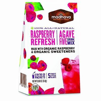 MADHAVA , DRINK MIX-RASPBERRY(Organic) 0.90 OZ[1PACK]