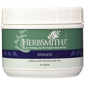Herbsmith Athlete Herbal Supplement for Dogs and Cats, 500gm Powder