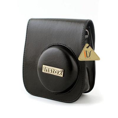 PU Leather Camera Shoulder Strap Bag Case Pouch For Fujifilm Instax Mini8 Black