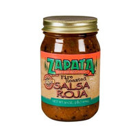 Zapata Fire Roasted Salsa Red Hot 16 OZ