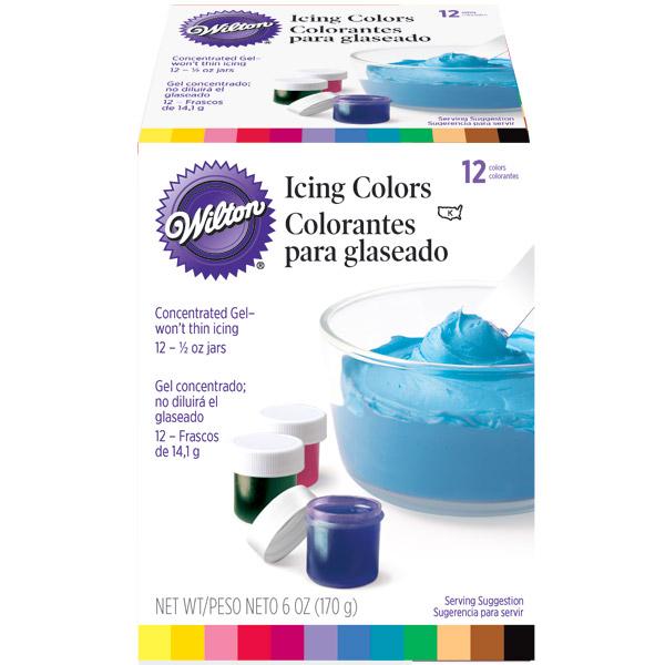 Wilton Icing Colors Set