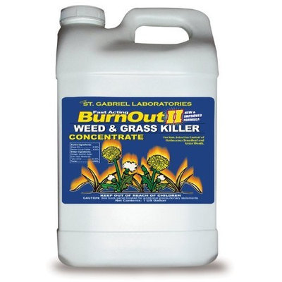 St. Gabriel Laboratories Fast Acting Burn Out II Weed Grass Killer Concentrate 40